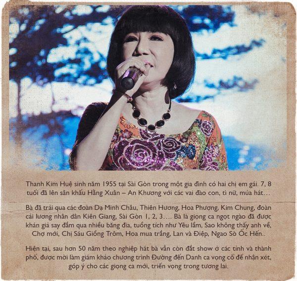 Nhạc cải lương: Ngọt lịm giọng ca Thanh Kim Huệ